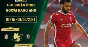 Kèo Liverpool vs Southampton