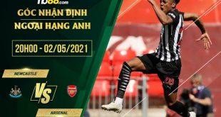 Kèo Newcastle vs Arsenal