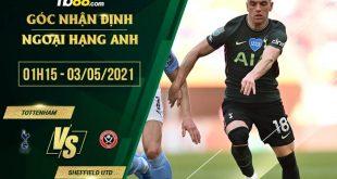 kèo Tottenham vs Sheffield United