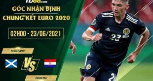 Soi kèo Croatia vs Scotland 2h00